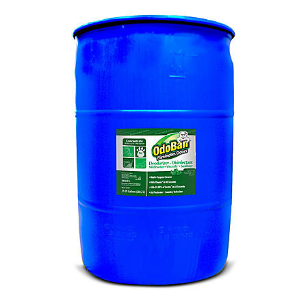 OdoBan Odor Eliminator and Disinfectant Multi-Purpose Cleaner Concentrate, Eucalyptus Scent (55 gal.)