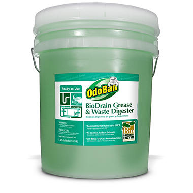 OdoBan BioDrain Grease and Waste Digester (5 gal. pail)