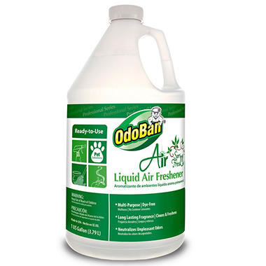OdoBan Air Spring Fresh Liquid Air Freshener (1 gal.)