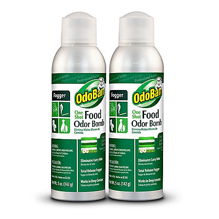 OdoBan One-Shot Food Odor Bomb Fogger (5 oz., 2 pk.)