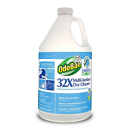 OdoBan Earth Choice 32X Multi-Surface Oxy Cleaner Concentrate (1gal.)