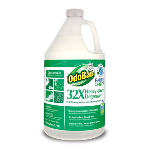 OdoBan Earth Choice 32X General Pupose Degreaser Concentrate (1 gal.)
