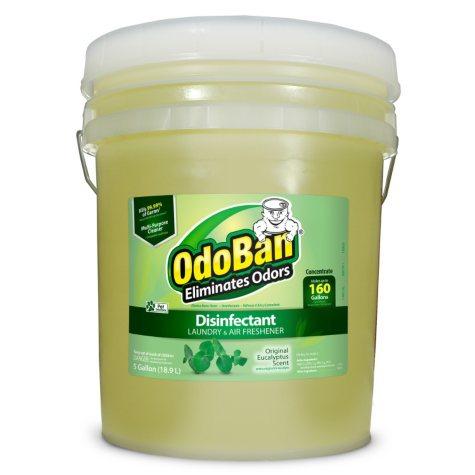 OdoBan Odor Eliminator & Disinfectant Concentrate, Choose Your Scent ( 5 gal.)