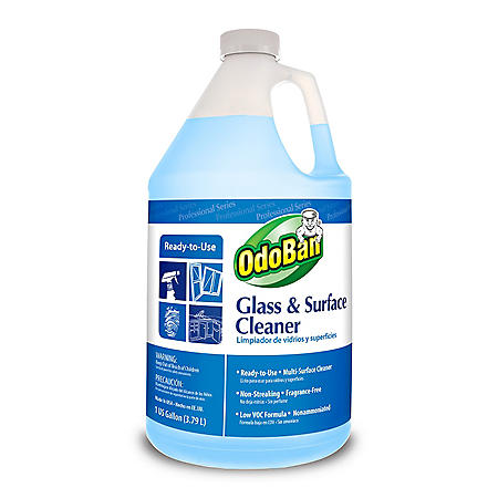 OdoBan Glass and Surface Cleaner - 1 Gallon