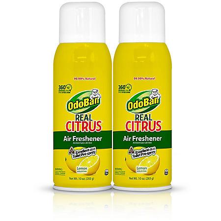 OdoBan Real Citrus Air Freshener, Lemon Scent (10oz., 2pk.)