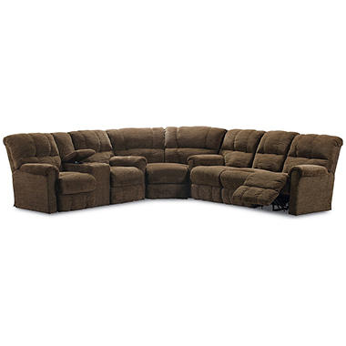 Lane Furniture Cody 3-Piece Reclining Sectional Sofa