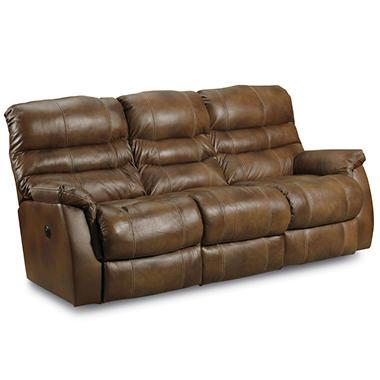 Lane Furniture Branyon Top Grain Leather Dual Reclining Sofa