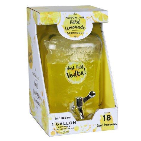 Hard Lemonade Mason Jar Drink Dispenser