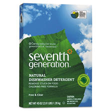 Seventh Generation Free & Clear Automatic Dishwashing Powder (45 oz.)