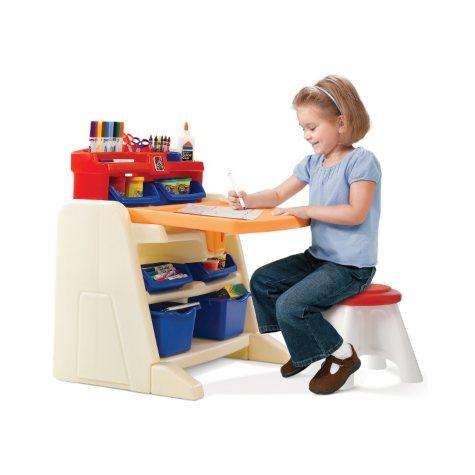 Step 2 Flip & Doodle Easel Desk with Stool