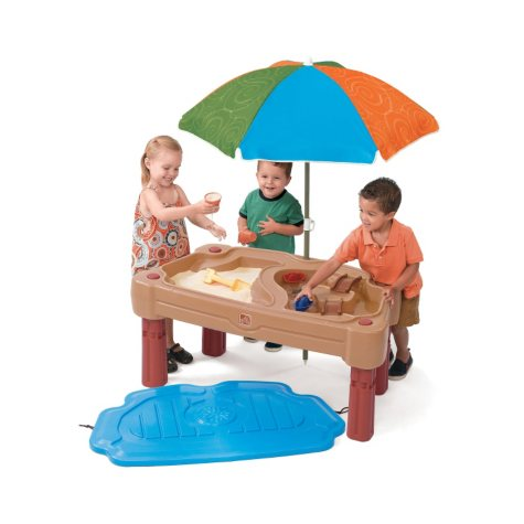 Adjustable Sand & Water Table with Umbrella