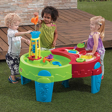 shady oasis sand water table with umbrella sam 39 s club. Black Bedroom Furniture Sets. Home Design Ideas
