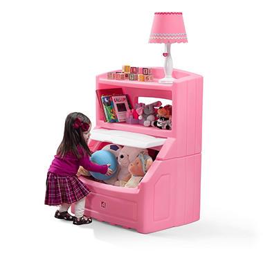 Lift & Hide Bookcase Storage Chest - Pink - Sam\'s Club