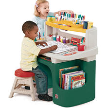 Art Master Activity Desk - Green