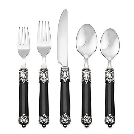Hampton Forge Signature San Remo 20-Piece Flatware Set (Assorted Colors)