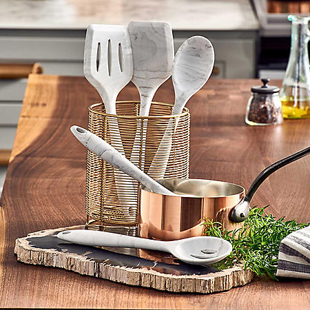 Tomodachi Marble 5-Piece Kitchen Tool Set