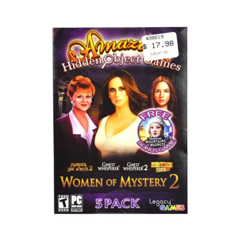WOMEN OF MYSTERY 2 PC GAMES