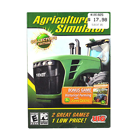 JOHN DEERE AGRI SIM PC GAMES SOFTWARE