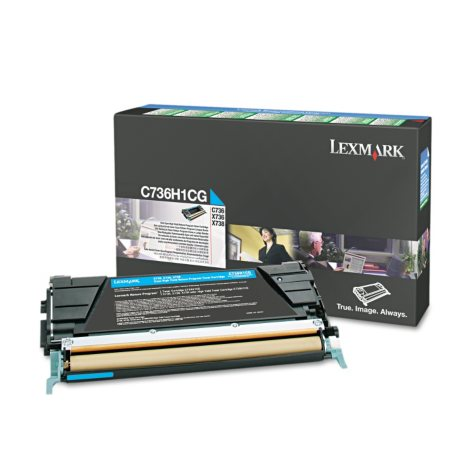 Lexmark C736 Toner Cartridge, Select Color
