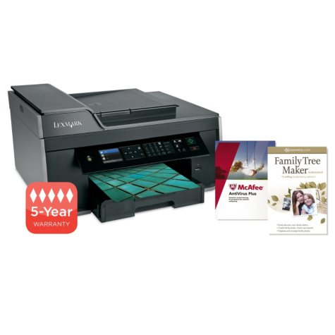 Lexmark Pro715 Wireless Multifunction Inkjet Printer