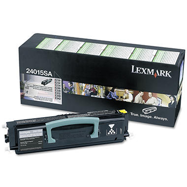 Lexmark 24015SA/34015HA Toner Cartridge, Black (6000 Page Yield)