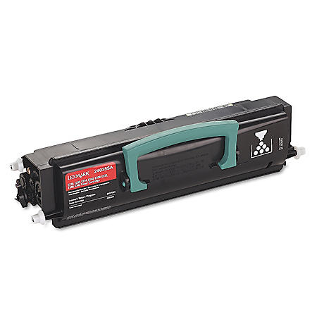 Lexmark E200/300 Series Toner Cartridge, Black (2,500 Yield)
