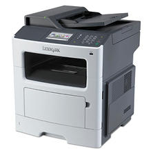 Lexmark MX417de Monochrome Multifunction Laser Printer
