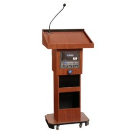Amplivox Adjustable Height 50W Sound Lectern