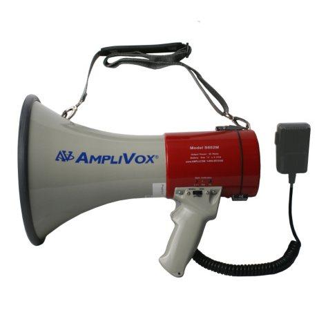 Amplivox Mity-Meg 25W Megaphone with Detachable Microphone