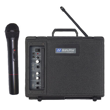 Amplivox Buddy 50W Wireless PA with Handheld Mic