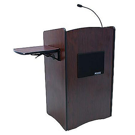 Amplivox 50W Sound Full Height Lectern, Select Color