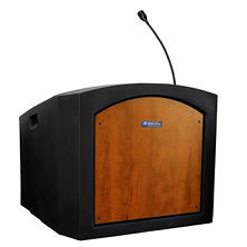 Amplivox Pinnacle Tabletop Sound Lectern, Select Color
