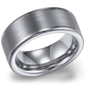 Tungsten Carbide 8mm Comfort-fit Wedding Band