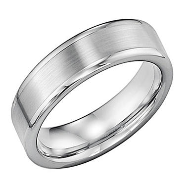 edge fit finish comfort band brushed in titanium dp beveled matte rings unisex size tigrade classy wedding