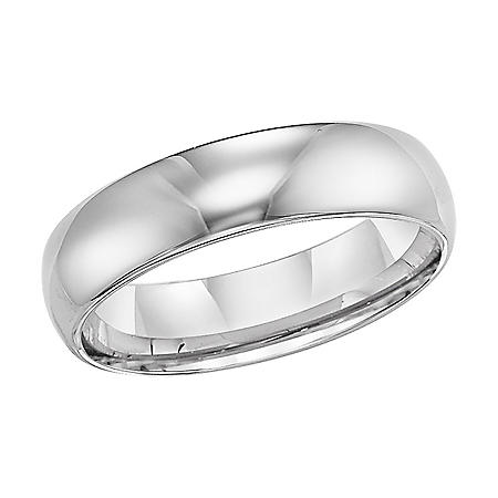 Tungsten Carbide Comfort-Fit Band - 6mm