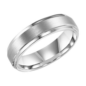 Tungsten Carbide 6mm Comfort Fit Band