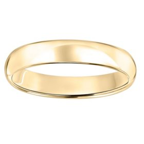 4mm Comfort Fit Wedding Band In 14k Gold