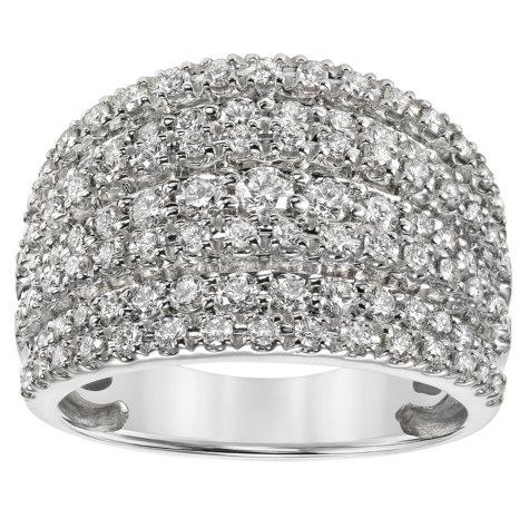 1.43 CT. T.W. Diamond Fashion Ring in 14K Gold (I, I -1)