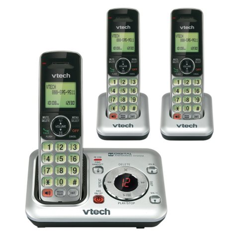 VTech 3 Handset Cordless Answering System w/ Caller ID