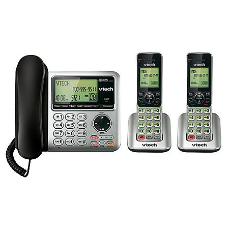 VTech CS6649-2 2 Handset Cordless Phone Answering System w/Caller ID & Call Wailting