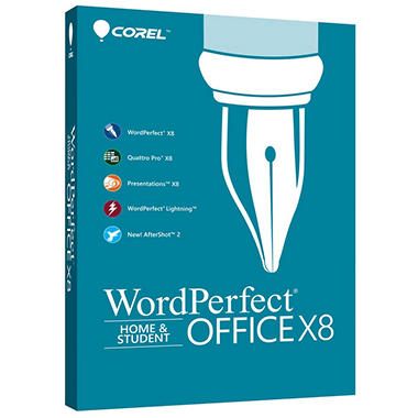 Word Perfect Office X8 Home & Student