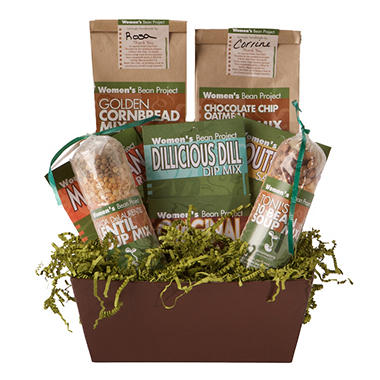 Gourmet Gift Basket - Women's Bean Project (8 pc.)