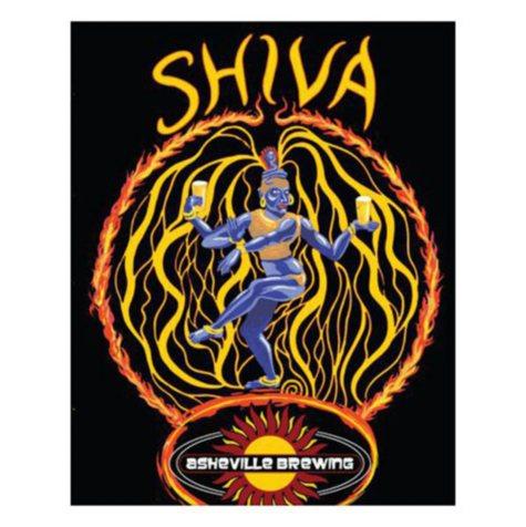 Asheville Shiva IPA (12 fl. oz. can, 6 pk.)