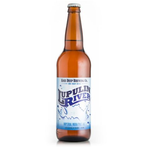 Knee Deep Lupulin River Imperial India Pale Ale (22 fl. oz. bottle)