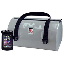 Mad Water Waterproof USA Duffel + Free Waterproof Phone Case