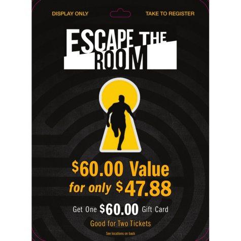Escape the Room - 1 x $60