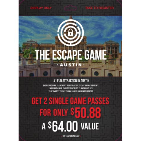 Escape Game Austin - 2 x $32