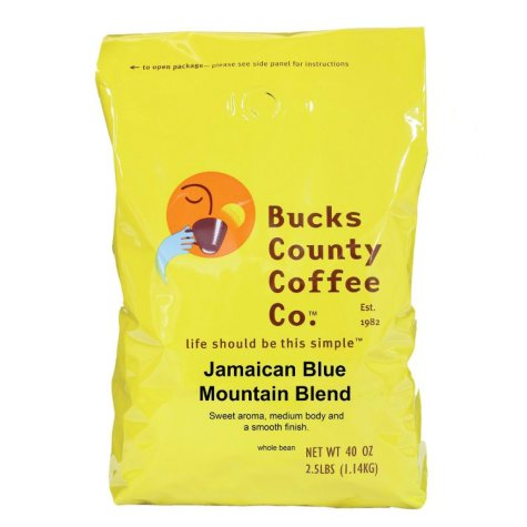 Bucks County Jamaican Blue Mountain Coffee - 2.5 lb.