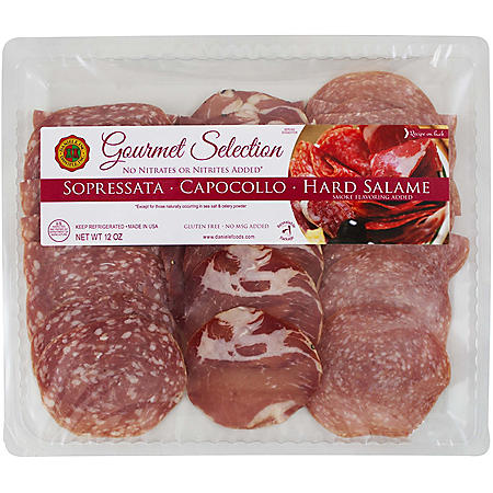 Daniele Gourmet Selection Sliced Meat Trio 12oz.