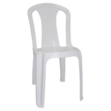 Vassallo Lady V Commercial White Plastic Chair